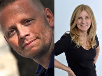 Patrick Ness and Sally Green
