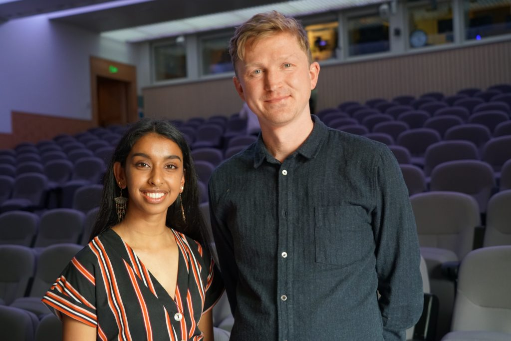 JOe Dunthorne and Henna Ravjibhai